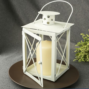 CLOSEOUT 9 1/4 Tall Lantern Table Centerpiece