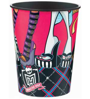 Monster High Party Cup Keepsake - Plastic reusable