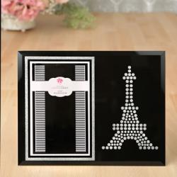 Classy Eiffel Tower Picture Frame Gift