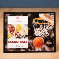 Magnificent Basketball Frame 4 X 6 Gift