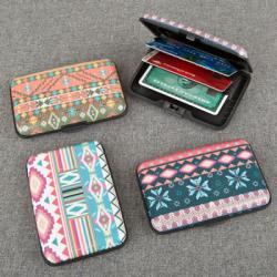 Fun Aztec Aluminum Wallets Gift SET OF 18