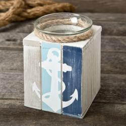Anchor Candle Holder With Candle Gift