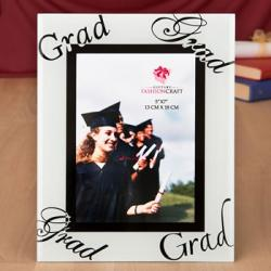 Fabulous 5 X 7 Graduation Glass Picture Frame