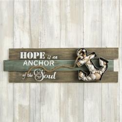 Anchor Wall Sign - Hope Is An Anchor Of The Soul