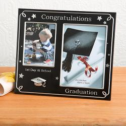 First Day Of School And Graduation Photo Frame