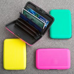 Fun Neon Wallet Credit Card Holder Gift SET OF 18