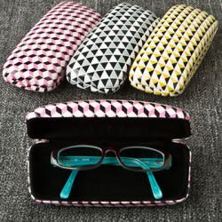 Geometric Design Fashion Eyeglass Holders Gift