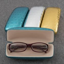 Metallic Eyeglass Holders In 3 Assorted Colors Gift SET OF 12