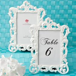 Baroque Design Frames - Table Number Holders