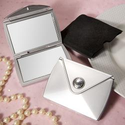 CLOSEOUT Fashionable Purse Design Compact Mirror Favors