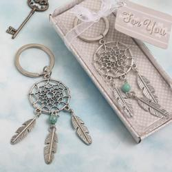 Dream Catcher Key Chain In Southwest - American Indian Design