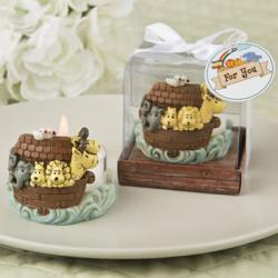 Adorable Noah's Arc Themed Tea Light Holder