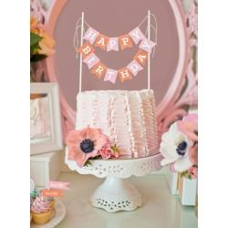 Personalized Cake Bunting Banners
