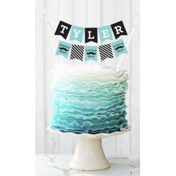 Personalized Birthday Cake Bunting