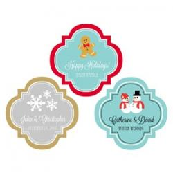 Personalized Winter 1.5 inch Mini Favor Labels