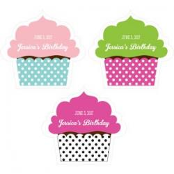 Personalized Cupcake Labels